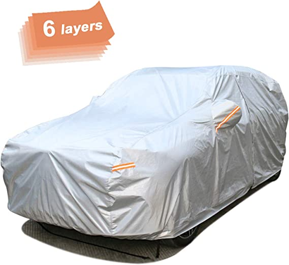 SEAZEN Car Cover 6 Layers