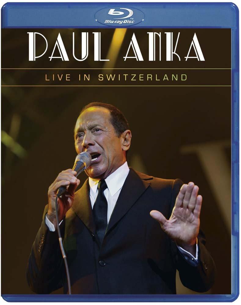 Blu-ray : Paul Anka - Live in Switzerland (Blu-ray)