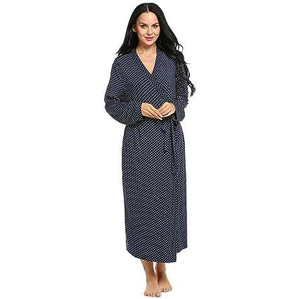 WDDGPZSY Camisa De Dormir/Camisón/Ropa De Dormir/Pijamas/Túnica De La