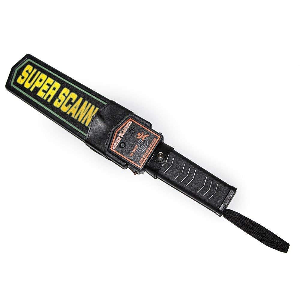 DAXGD Alarma del detector de metales de mano de seguridad y Vibración: Amazon.es: Bricolaje y herramientas