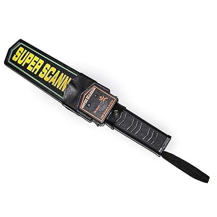 DAXGD Alarma del detector de metales de mano de seguridad y Vibración