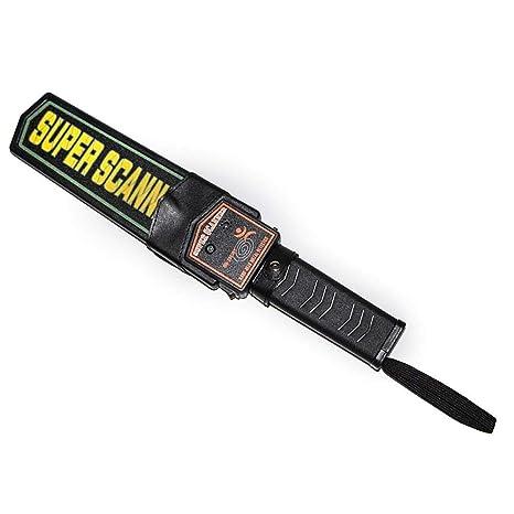 Egomall Alarma de seguridad Detector de metales de mano y Vibración