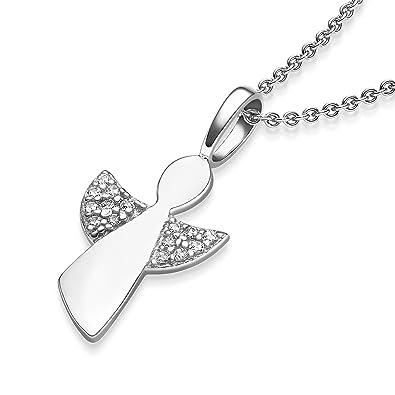 Geschenke Zur Kommunion Mädchen Schutzengel Kette Silber 925 Engel Kette Erstkommunion Geschenke Schmuck Anhänger Kommunionsgeschenk Kleine