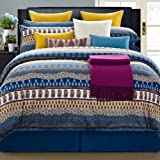 Eastern King Comforter Dimensions EverRouge 8-Piece Aladdin Cotton Bed in a Bag, California King