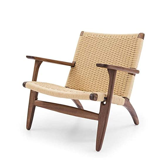 Amazon.com: SUN HUIJIE Wicker Chair Backrest Chair Hotel ...