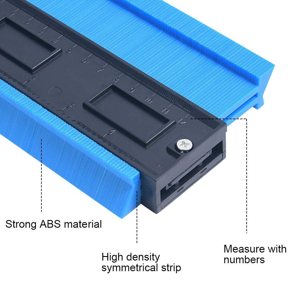 Irregolare Profile Misuratore Verde Profilo Strumento di Misura 10+ Profilo Strumento di Misura flintronic Contour Duplicator Gauge