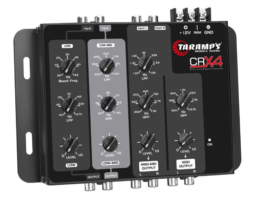 Taramp's CRX4 4-Way Electronic Crossover
