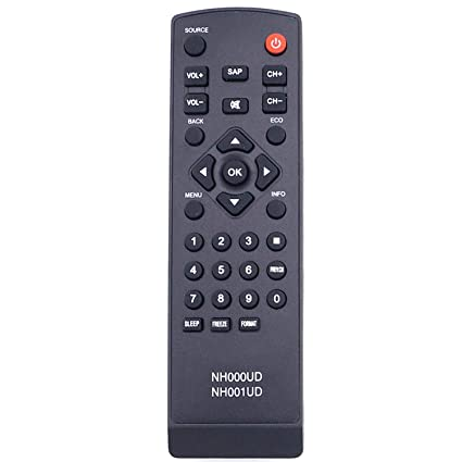 Beyution New Nh000ud Nh001ud Replaced Remote for Emerson Lc260em2 Lc320em2  Rlc320em1 Lc220em1 Rlc220em1 Lc401em3f Lc320em3f Rlc370em2 Lc370em2