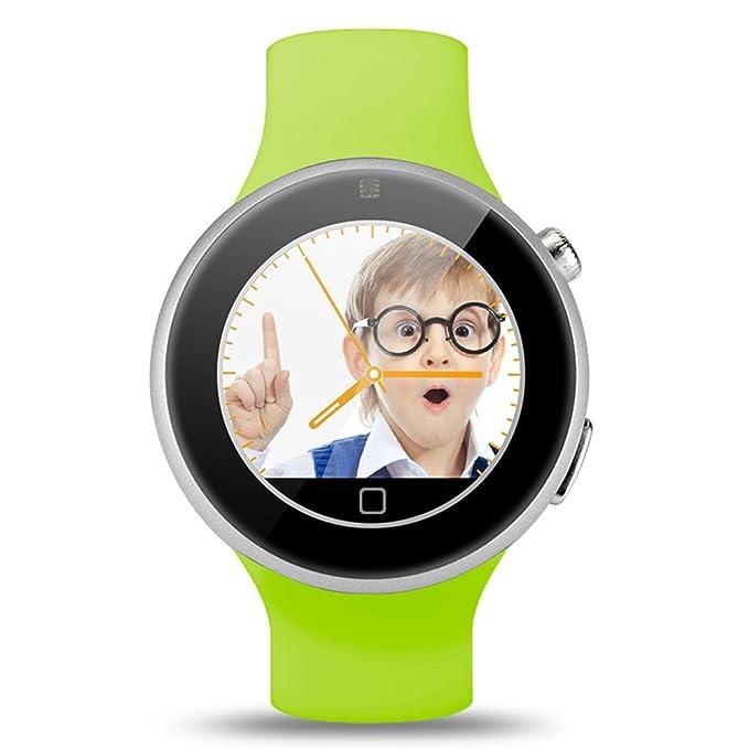 Gearbest C5 aiwatch deportes resistente al agua reloj inteligente con bluetooth remoto cámara corazón tasa de/Monitor de sueño: Amazon.es: Relojes