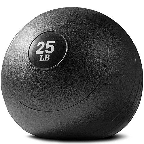 Titan Fitness 25 lb Weighted Slam Spike Ball Sport Rubber Exercise Workout
