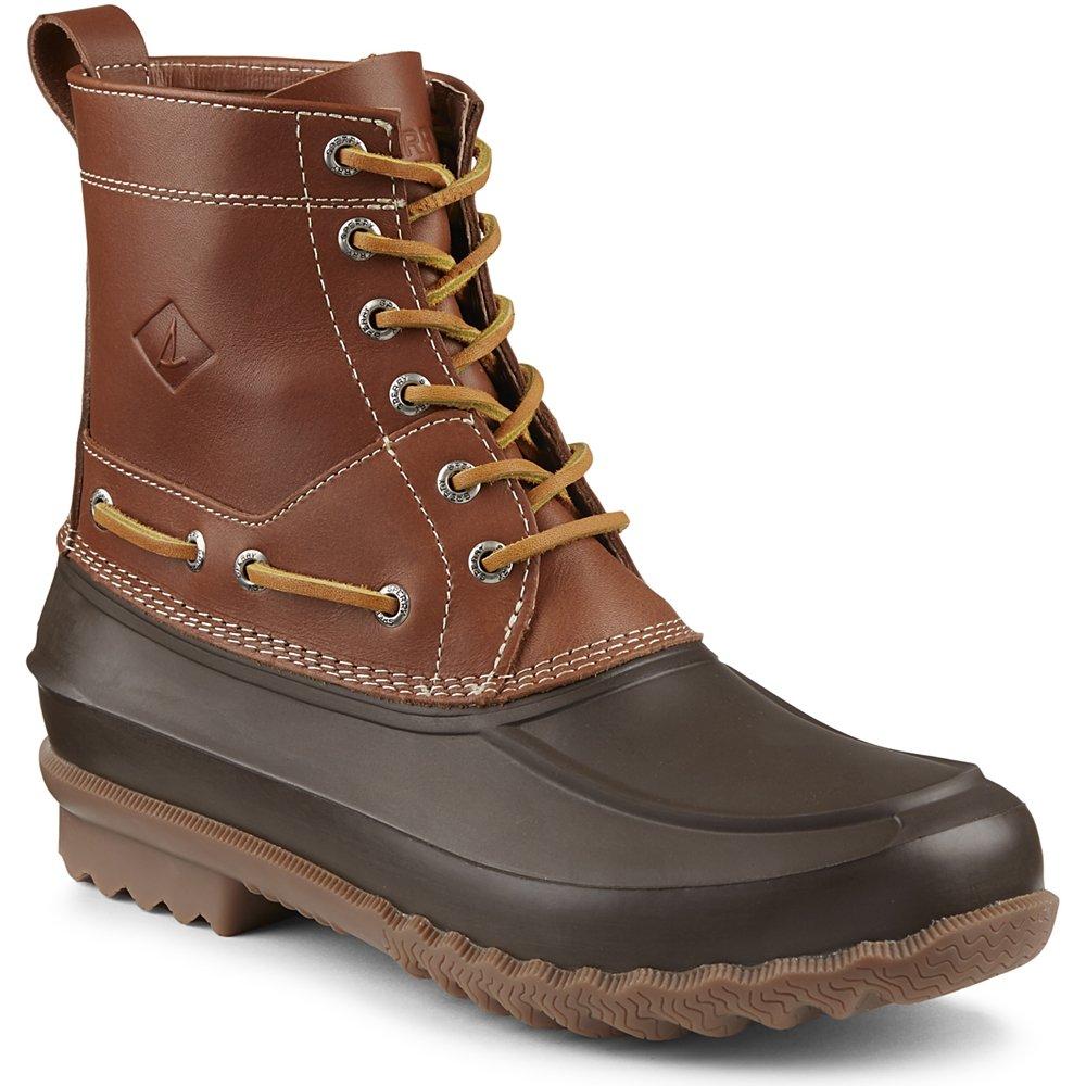 Sperry Top-Sider Men's Decoy Rain Boot, Brown, 9 M US