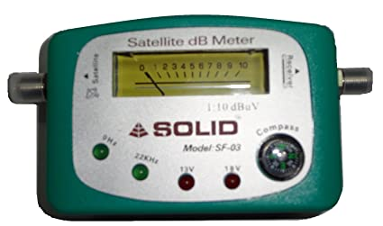 83abd978648 Buy SOLID SF-90 Analogue Satellite dB Meter Online at Low Prices in ...