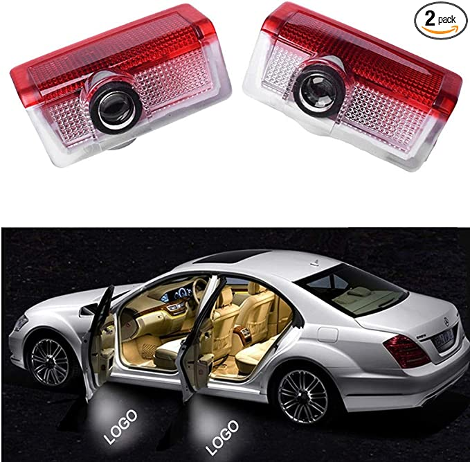 For Benz w176 A class A45 AMG 2 Laser LED Door courtesy Shadow Projector Light