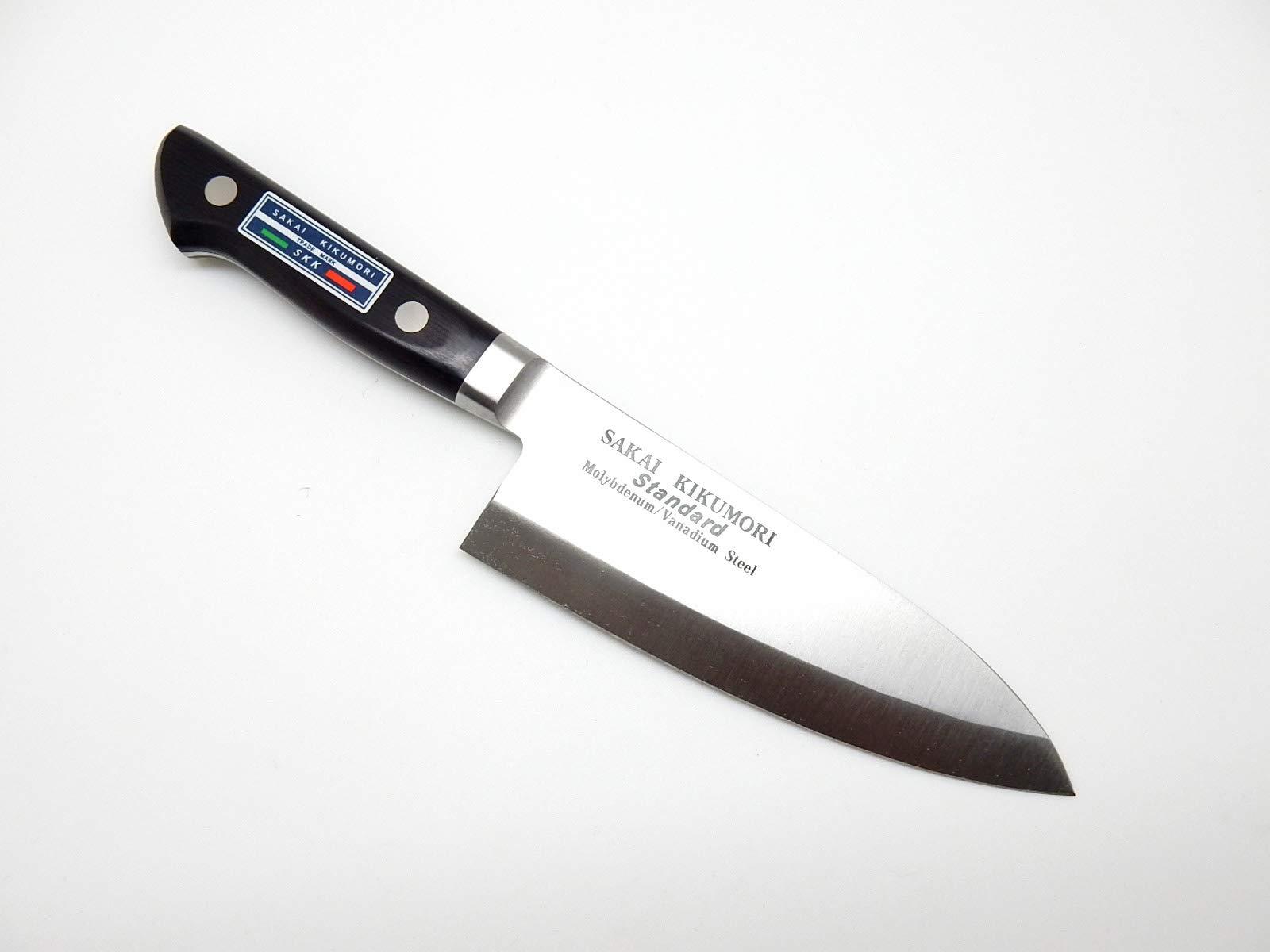 SAKAI KIKUMORI Standard Molybdenum/Vanadium Steel, Japanese Deba Knife 165mm/6.5'' by SAKAI KIKUMORI (Image #3)