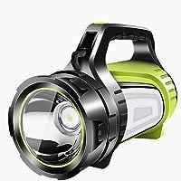LXB Hochwertige Handheld-LED-Taschenlampe, 8000-mAh-Akku mit hoher Kapazität, DREI Modi, wasserdichter und bruchsicherer USB-Ausgang als Mobile Stromversorgung.