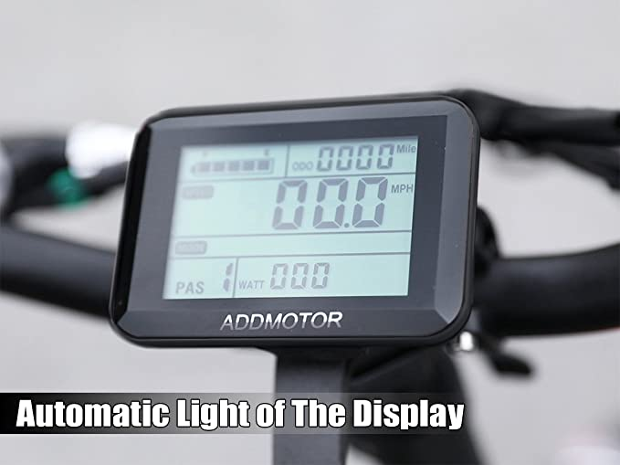 Addmotor MOTAN 750W plegable de 20 pulgadas de gran neumático Bicicleta Elétrica M150-P7 48V 11.6AH Litio Batería Montaña, Nieve, Palaya M-150 Platino ...