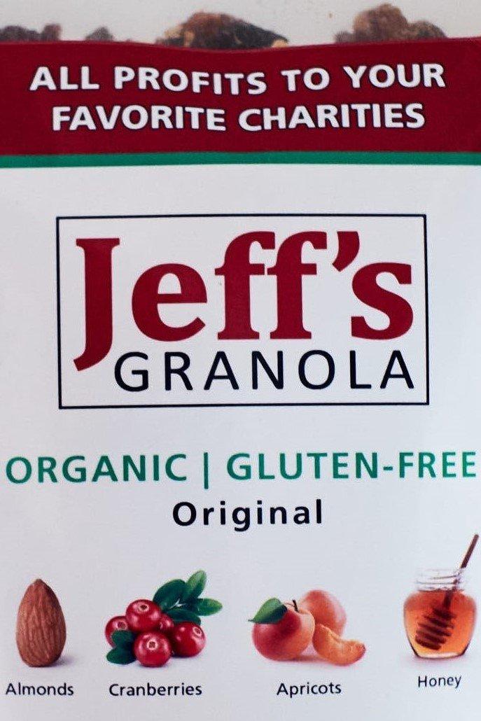 Jeff's Granola - Jeff's Original Organic and Gluten-Free Granola, 4 lb.