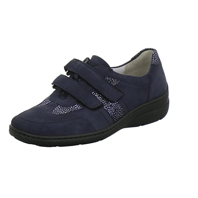 Waldläufer Damen Slipper 931301 931301 202 217 blau 568050