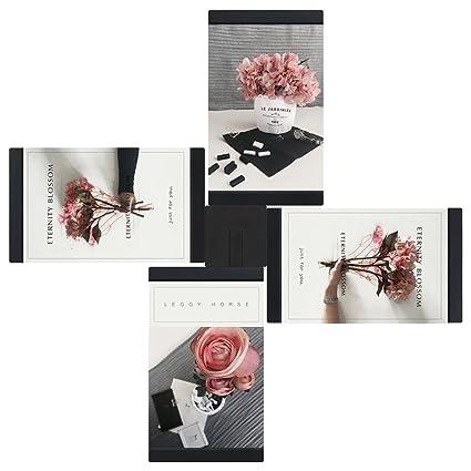 Amazon.com - 4x6 3D DIY Family Puzzle Collage Photo Frames, High ...