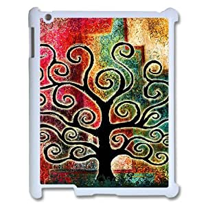 FOCUSCASE Hot Selling Cover Custom Case Of Tree of Life,Handmade customized case For IPad 2,3,4