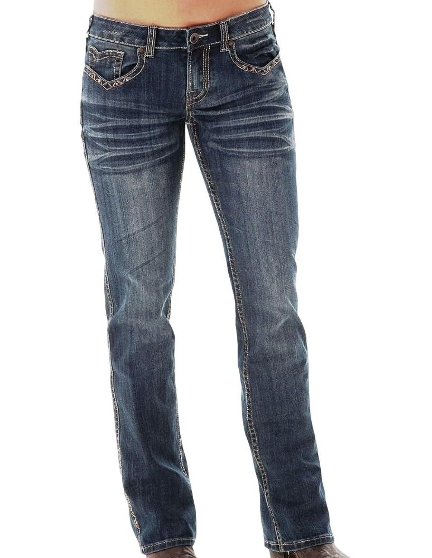 Cowgirl Tuff Western Denim Jeans Womens Triple LLL Give Back JTPLLL