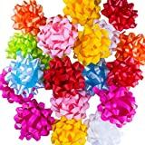 Assorted Pastel Satin Gift Bows, 20 Pack: more info