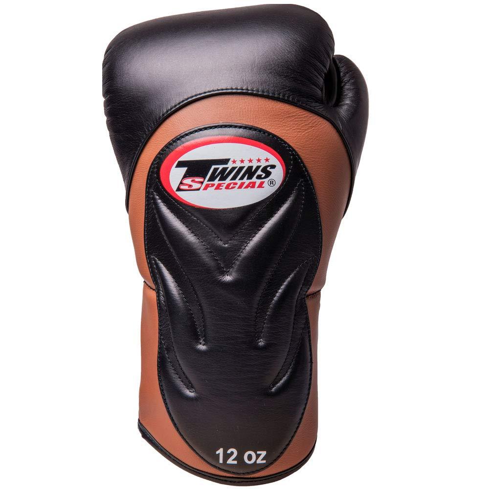 Premium Twins Boxhandschuhe BGVL-6 schwarz-braun