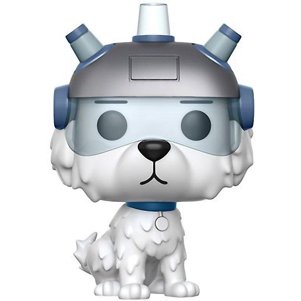 Animation Vinyl Figure /& 1 POP Compatible PET Plastic Graphical Protector Bundle #178 // 12445 - B Snowball: Rick /& Morty x Funko POP