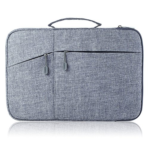 Megoo 13-14Inch Water Resistant Laptop Case Sleeve Bag with Handle and Pocket...
