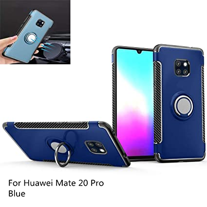 Amazon.com: Huawei Mate 20 Pro case 360 Degree Rotating Ring ...