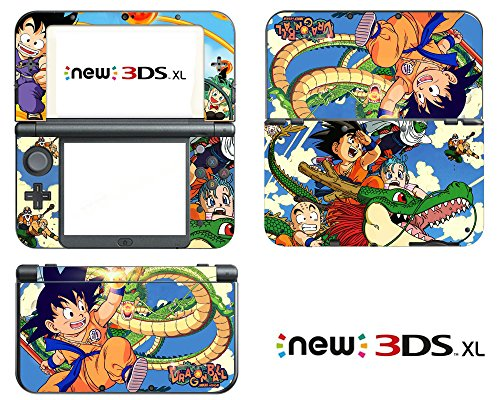 Vanknight Vinyl Decals Skin Sticker Classic Kid Goku for the New Nintendo 3DS XL 2015](Dragon Ball Z Games 3ds)