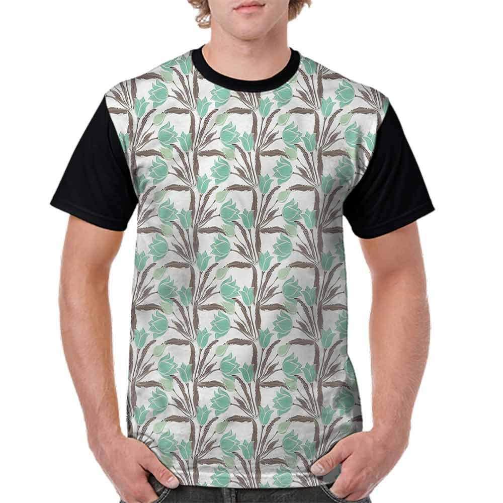 Fashion T-Shirt,Cup Shaped Blossoms Spring Fashion Personality Customization