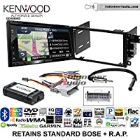 Kenwood Excelon DNX694S Double Din Radio Install Kit with GPS Navigation System Android Auto Apple CarPlay Fits 2003-2005 Chevrolet Blazer, 2003-2006 Silverado, Suburban (Standard Bose)