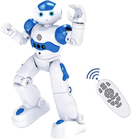 New Multifunction Intelligent Robot for Kids with Remote Control Humanoid Sense