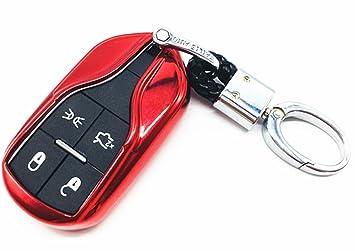 YUWATON Funda para llave de coche de TPU para mando a ...