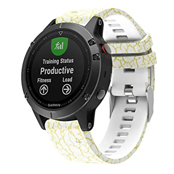 Garmin Fenix 5 correa de reloj banda reemplazo muñeca de instalación rápida, Topten banda de