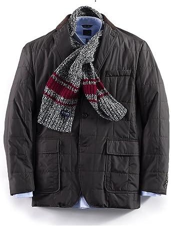XQS Mens 1 Button PU Classic Plus-Size Coat Sports Blazer Jacket