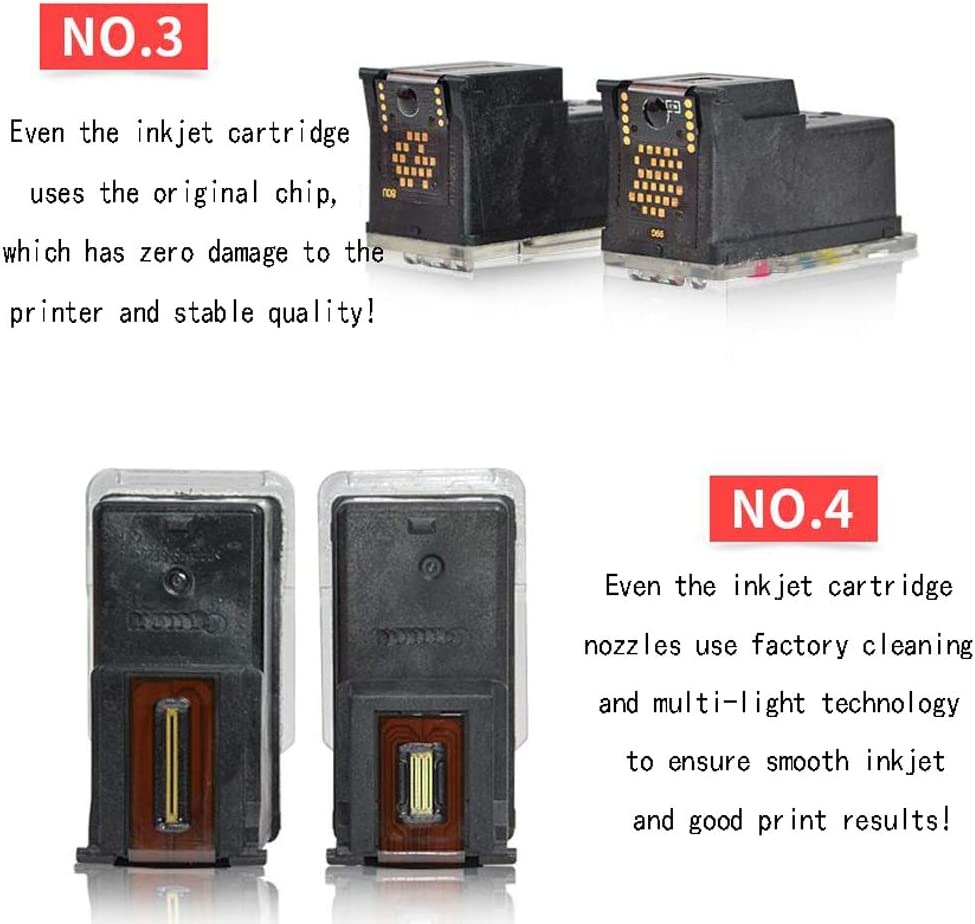 GYBN Printer with Inkjet Cartridge can be refilled for Canon 340 341 MG2130 MG3130 MG3530 MG4130 MX513 MX523 Ink Cartridge-Black
