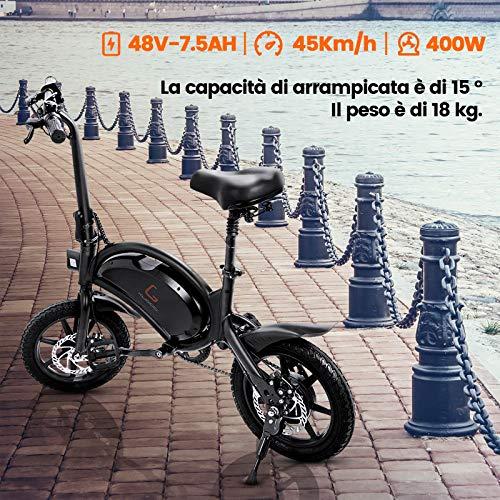 €559.99 urbetter Bici Elettrica Pieghevole, 48V 400W ...