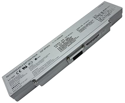 Replacement Battery for Sony Vaio VGN-CR340F [No BIOS Update