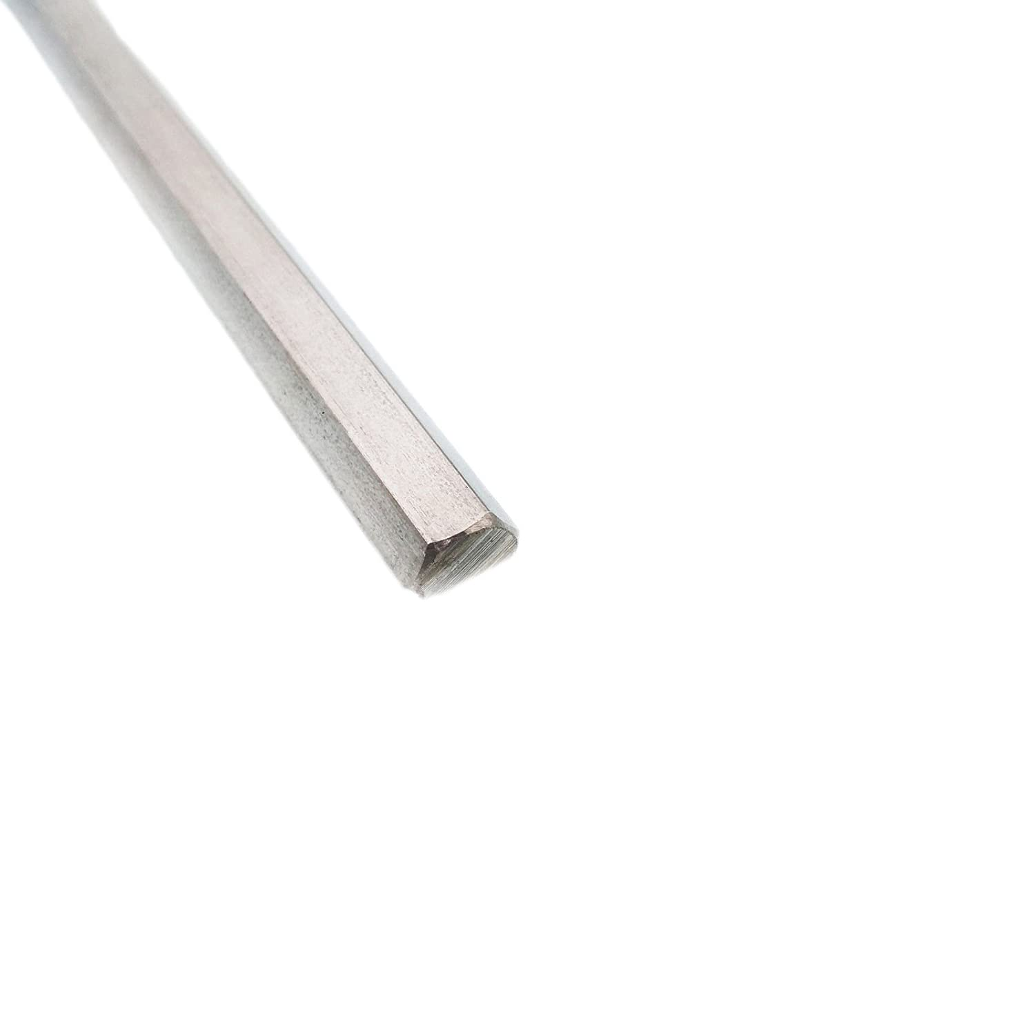 """Alloy 304 Stainless Steel Solid Hex Bar 7//8/"""" x 24/"""" Long"""