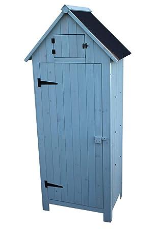 Mueble de madera jardín Brighton exterior o galpón en mamografía: Amazon.es: Jardín