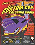 Fireball Tim's Custom Car Coloring Book: Color The Cool