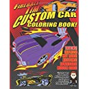 Fireball Tim's Custom Car Coloring Book: Color The Cool