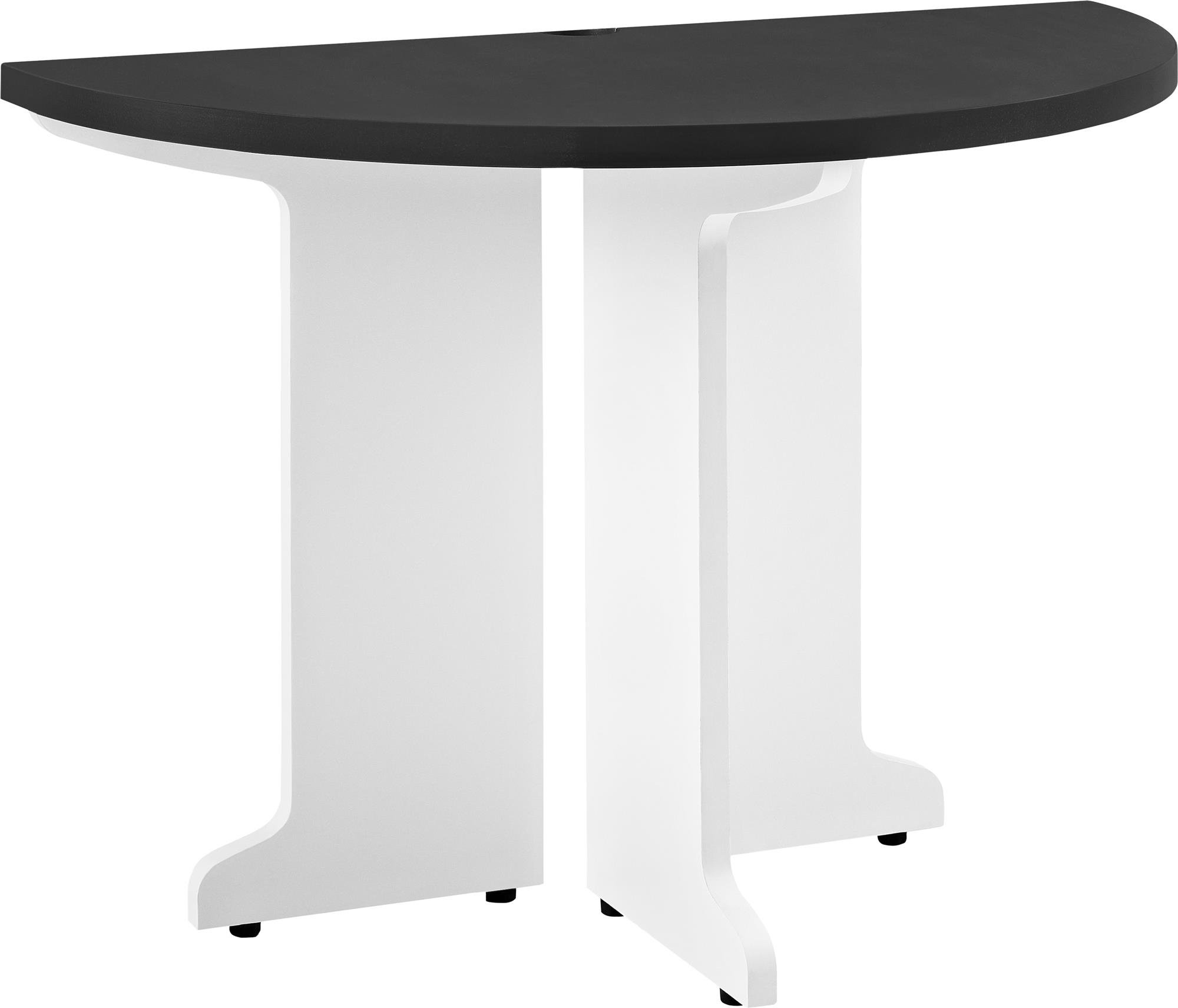 Altra Furniture Ameriwood Home Pursuit Peninsula, White/Gray
