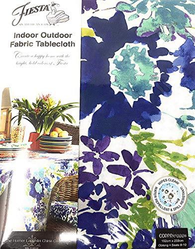 (Fiesta Indoor/Outdoor Garden Floral/Cool Fabric Tablecloth 60