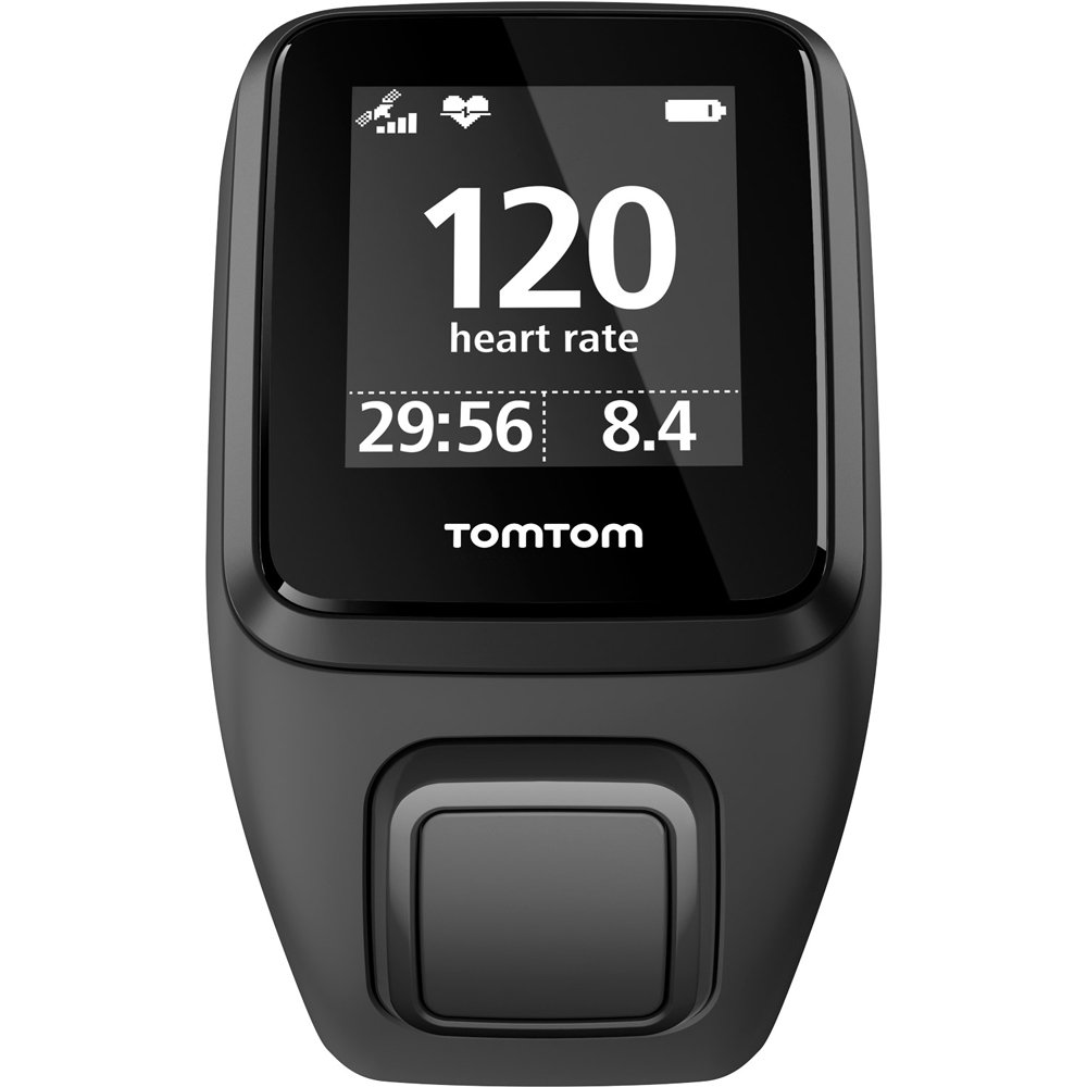 TomTom Spark 3, GPS Fitness Watch and Activity Tracker (1RL0.002.01) Black, Small + 1 YEAR EXTENDED WARRANTY by TomTom (Image #2)
