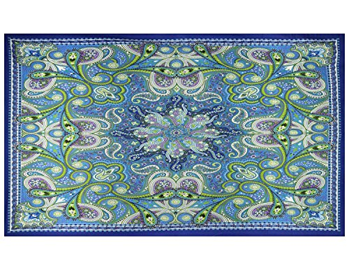 Sunshine Joy 3D Infinity Star Paisley Tapestry Tablecloth