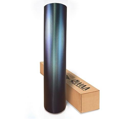 Amazon.com: Rollo de vinilo fundido XPO de VViViD, de fibra ...