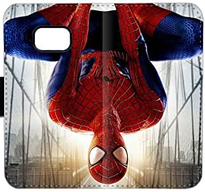 Spider Man B2V7I Funda Samsung Galaxy Note caja de la carpeta de cuero Funda Caso 5 jNRkL4 duro tirón del teléfono Funda Activo